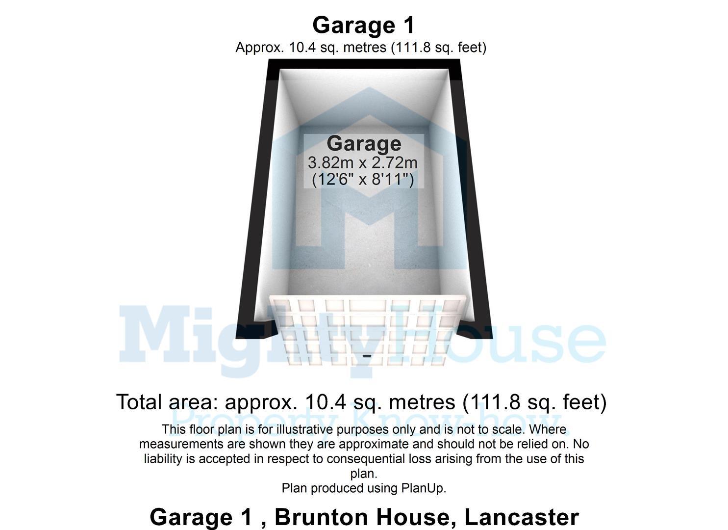 Garage 1 , Brunton House, Lancaster - 3D.JPG